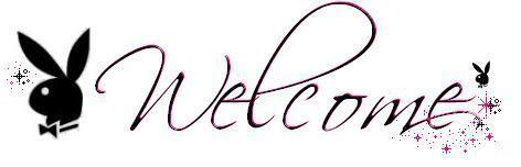 Gifs scintillant bienvenue